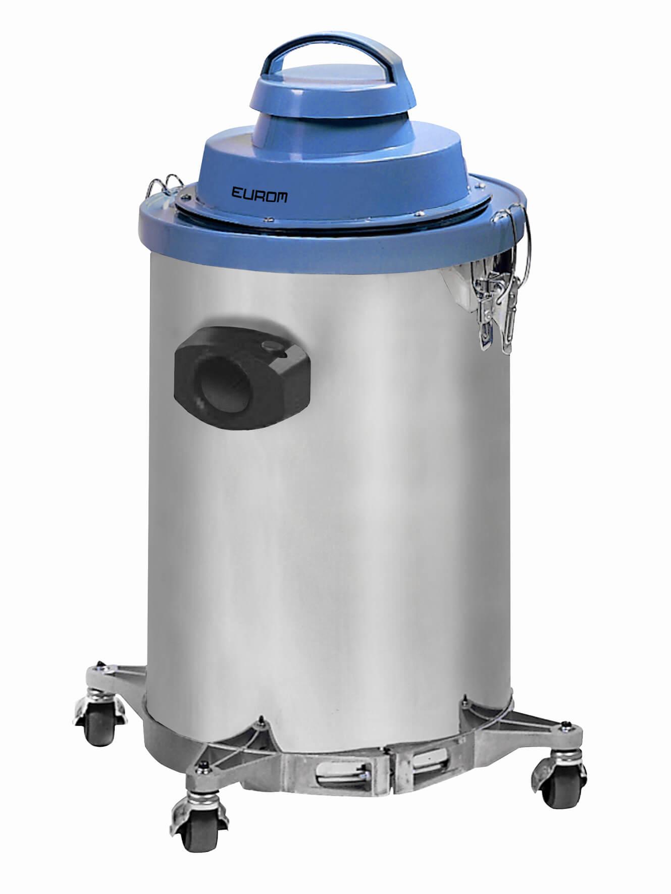 Eurom 1030RVS Industriële alleszuiger 1000W | Stofzuiger en waterzuiger 30ltr RVS-tank