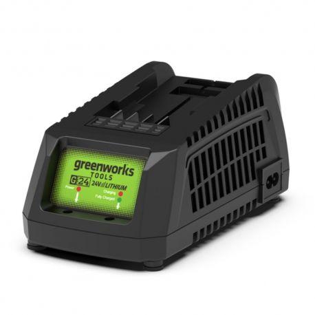 Greenworks G24C Lader voor accu van Greenworks | Acculader 24V Li-ion (Acculaders voor accu)