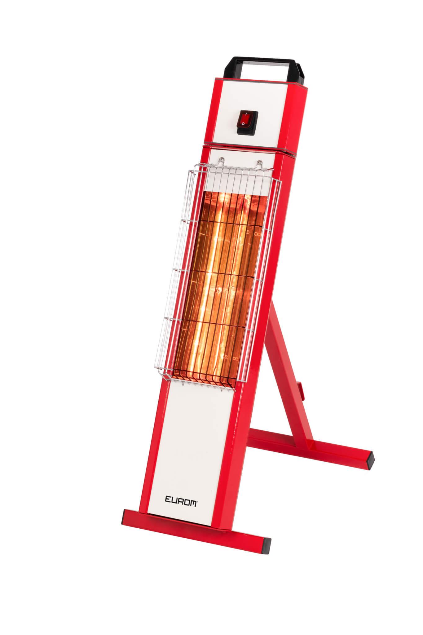 Eurom Golden Draagbare Kachel 1000 W | Rode werkplaatskachel