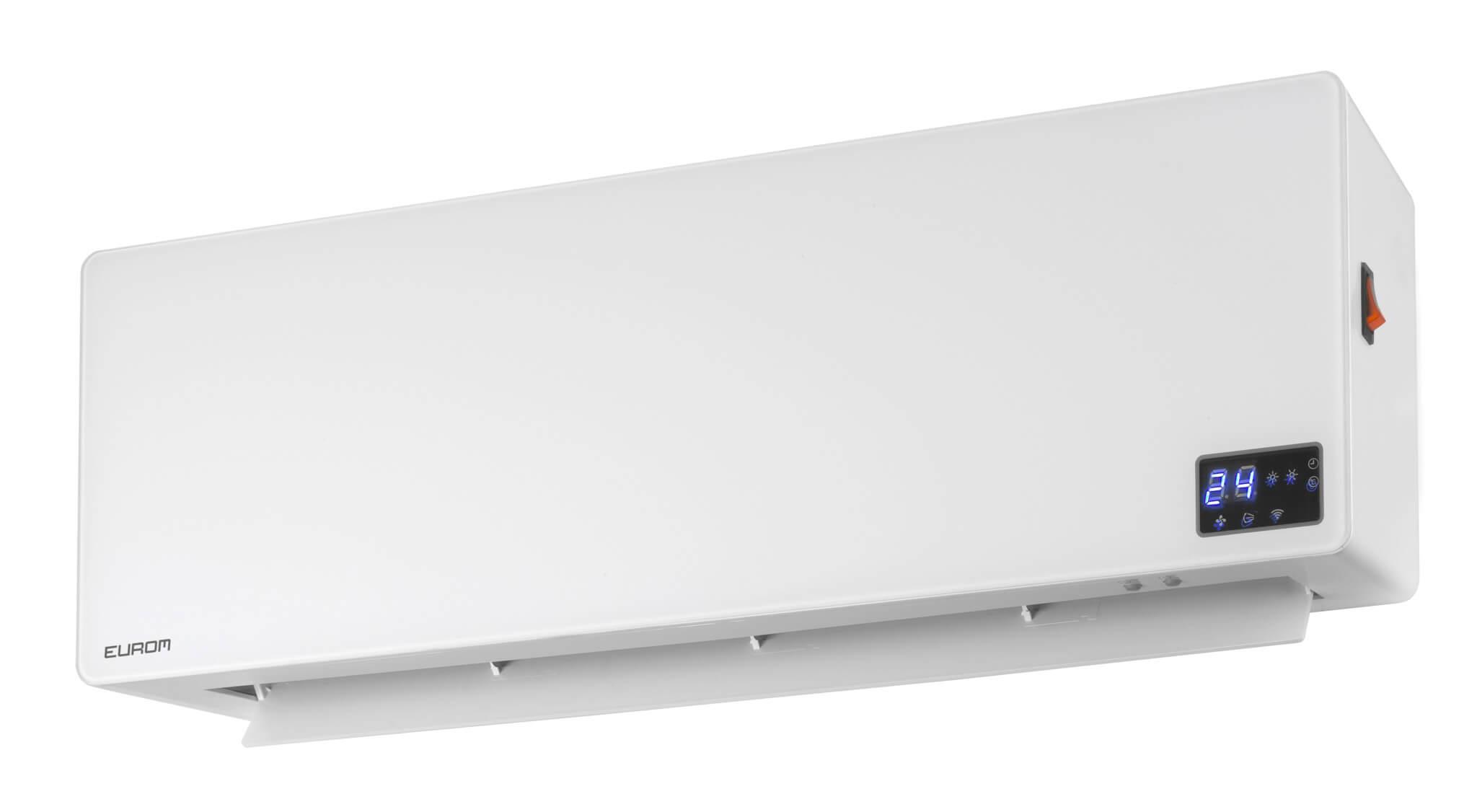 Eurom Wall Designheat 2000 WiFi Elektrische verwarming 2000W   Met afstandsbediening en WiFi
