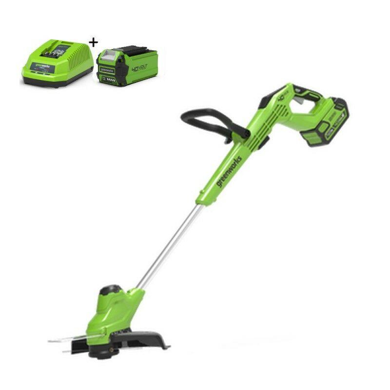 Greenworks G40T5K2 Kantenmaaier accu grastrimmer | Graskantsnijder met accu en lader
