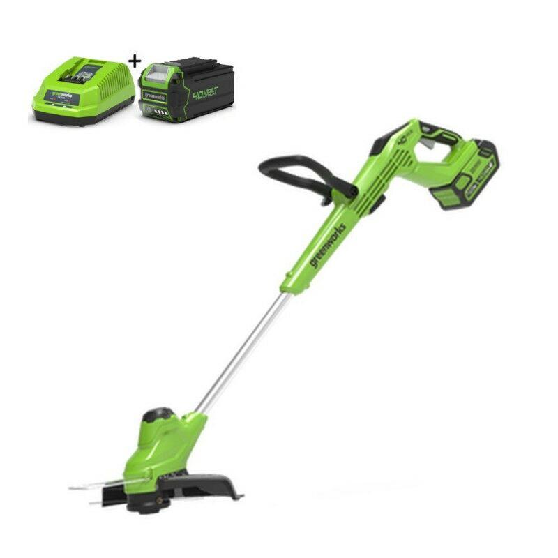 Greenworks G40T5K4 Kantenmaaier accu grastrimmer | Graskantsnijder met accu en lader