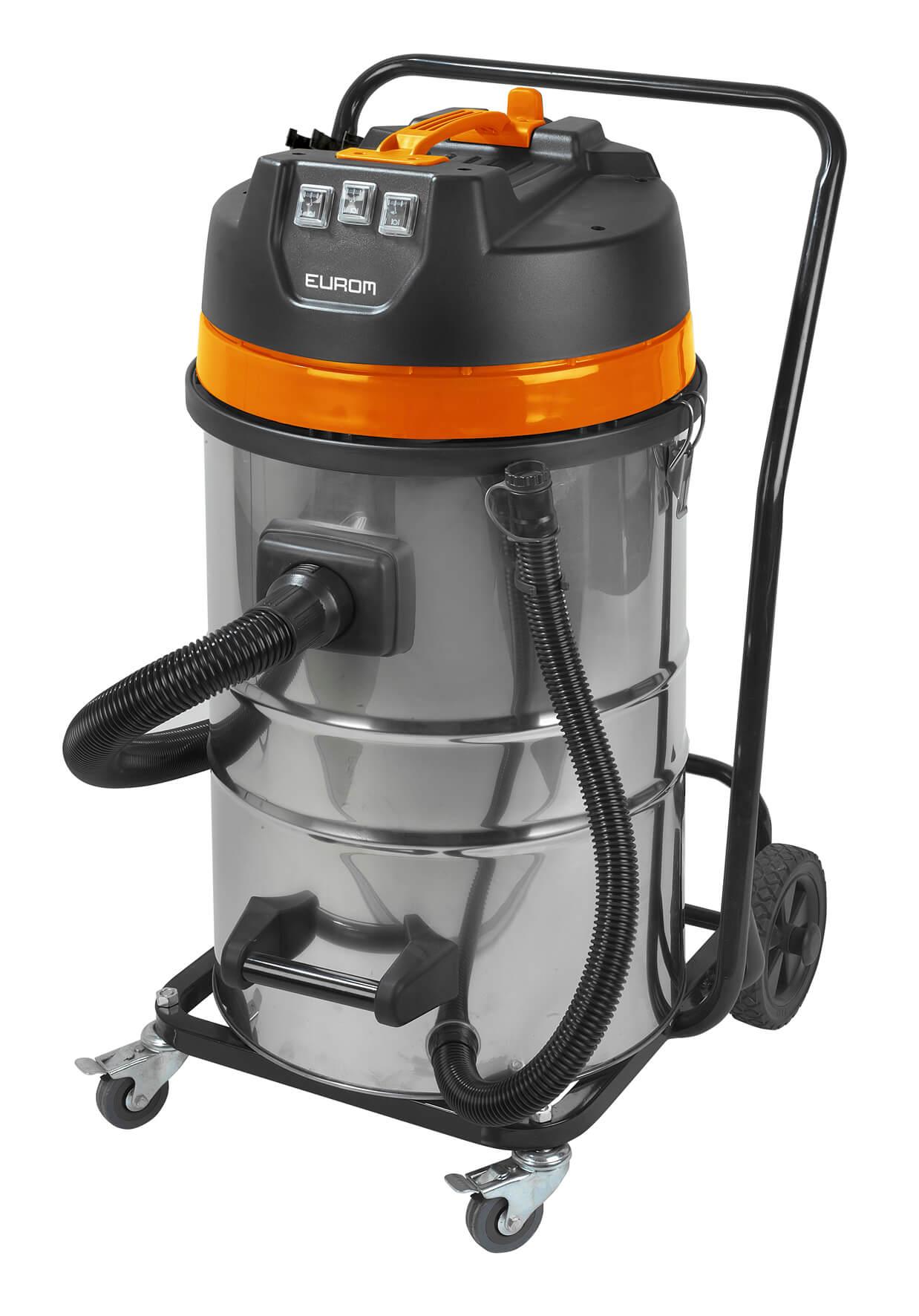 Eurom Force 3080 Alleszuiger 3000W | Stof en waterzuiger 80 liter ketel semi prof