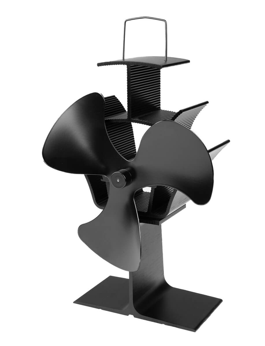 Eurom Kamin Vento 3 | Eurom Haard Ventilator | Houtkachel Ventilator (verwarming elektrisch)