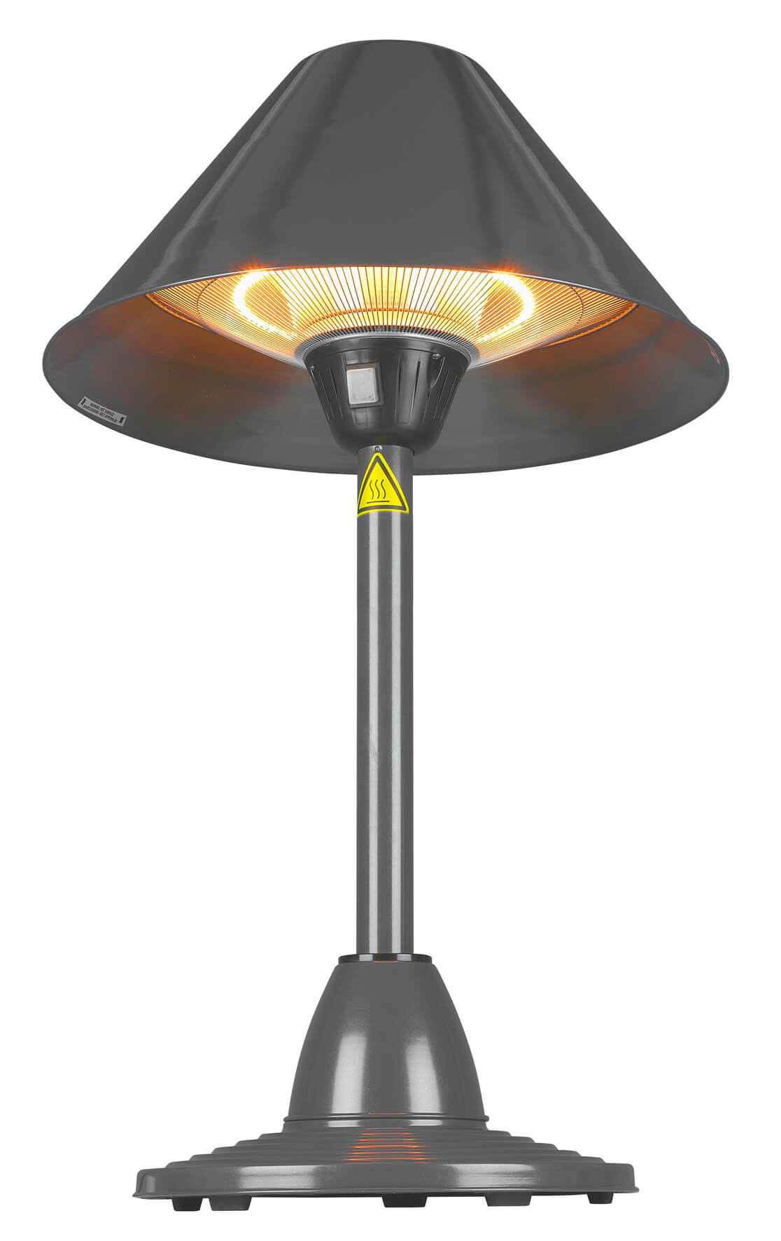 Eurom PD1500T Staande infrarood terrasverwarmer | Tafelmodel halogeen