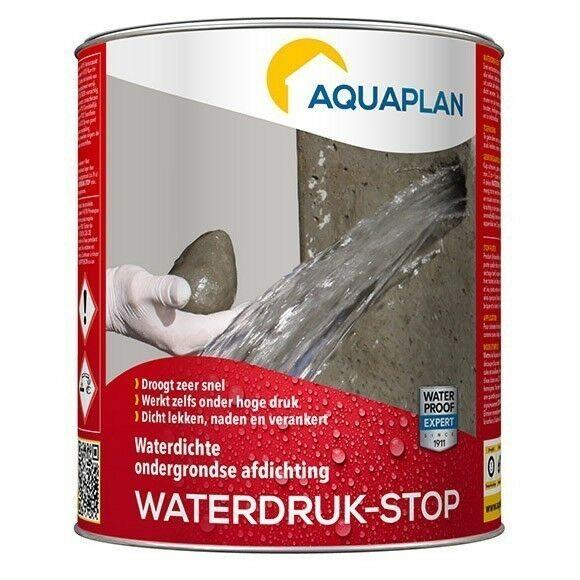 Aquaplan Waterdruk-Stop 1 Kg   Expanderend Afdichtingsmiddel