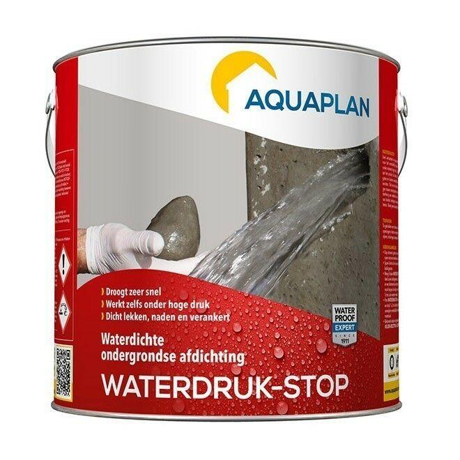 Aquaplan Waterdruk-Stop 2,5 Kg   Expanderend afdichtingsmiddel