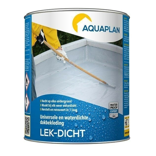 Aquaplan Lek-Dicht 0,75L   waterdichte renovatielaag