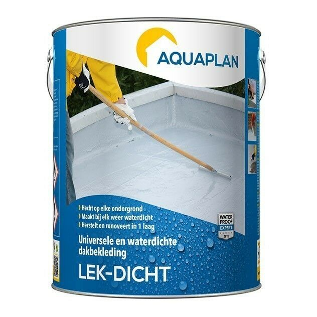 Aquaplan Lek-Dicht 12L   elastische renovatielaag