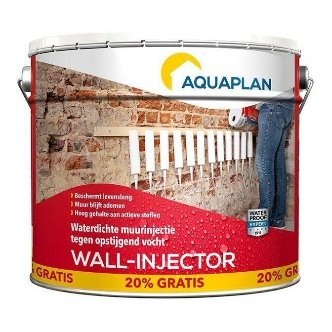 Aquaplan Wall-Injector Refill 10L+20%   Professionele injectievloeistof