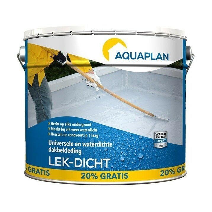 Aquaplan Lek-Dicht 4L   Waterdichte renovatielaag