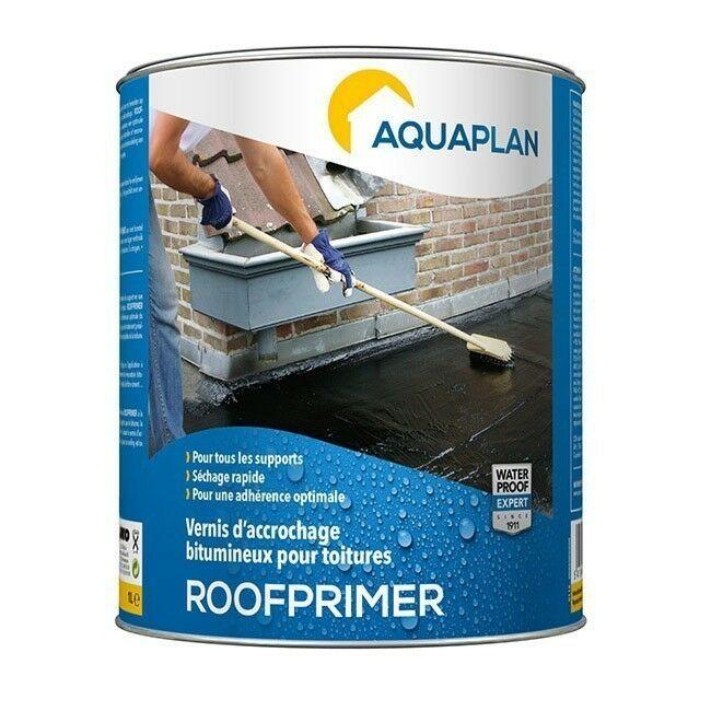 Aquaplan Roofprimer 1L   bitumineuze hechtvernis