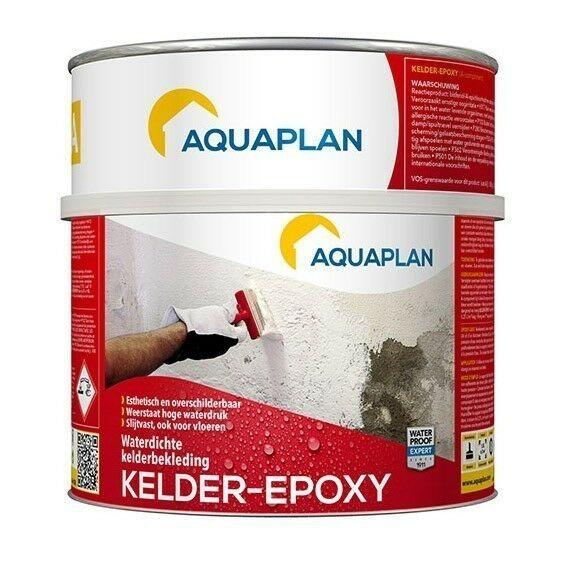 Aquaplan Kelder-Epoxy 1,5 L   Tweecomponenten epoxycoating