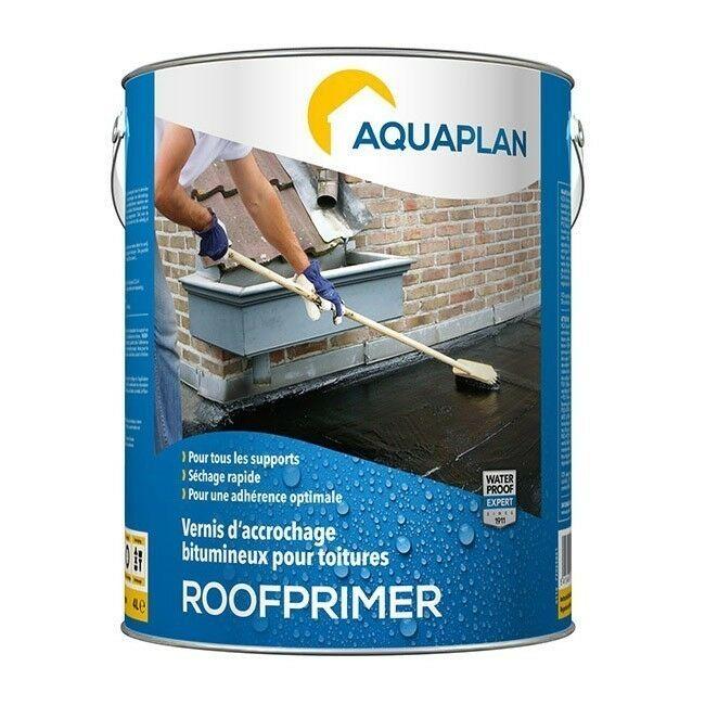 Aquaplan Roofprimer 4L   Bitumineuze hechtvernis