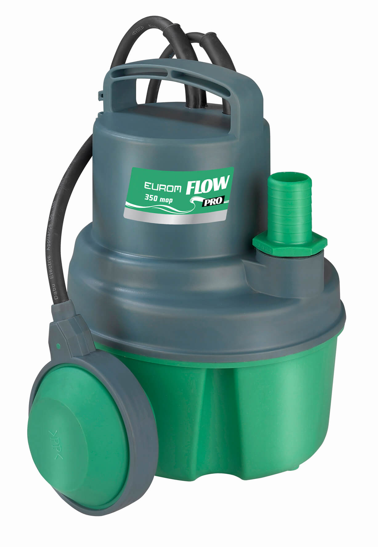 Eurom Flow Pro 350 mop schoonwaterpomp 350W   Dompelpomp   Dweilpomp