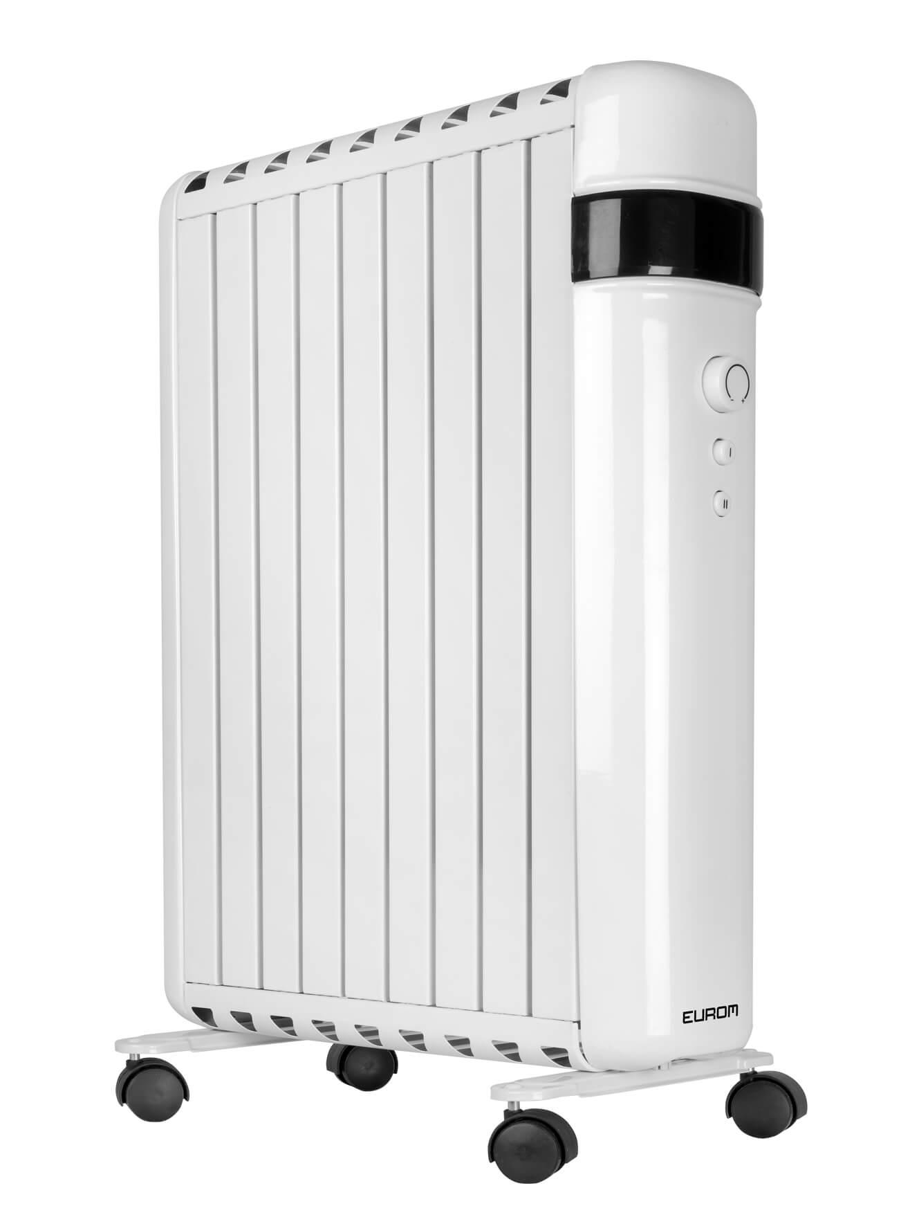 Eurom RAD2000 Oil Free elektrische verwarming 2000W   Olievrije radiatorkachel (radiatorkachel)