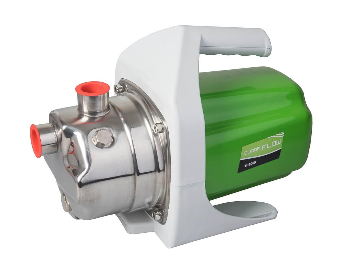 Eurom Flow TP 800R Tuinpomp 800W | Grondwaterpomp 3180 l-u | Beregeningspomp RVS