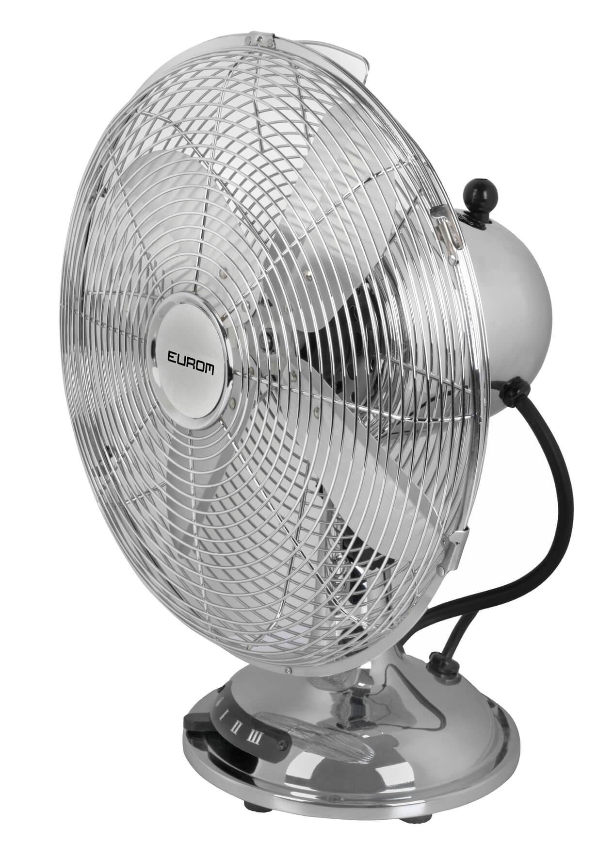Eurom VTM12 Tafelmodel ventilator 30 cm metaal