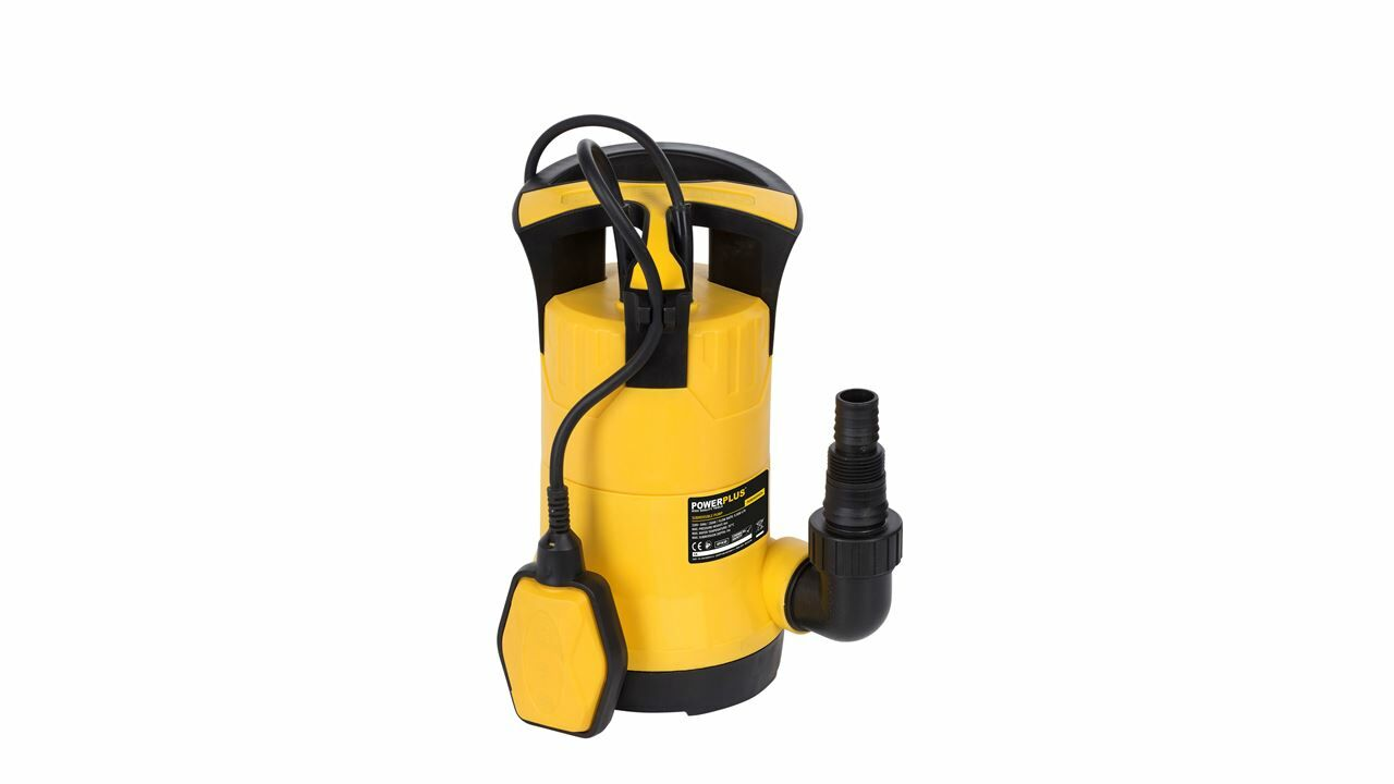 Powerplus POWXG9504 Schoonwaterpomp 250W | Dompelpomp 5500 l/u (Waterpomp elektrisch)