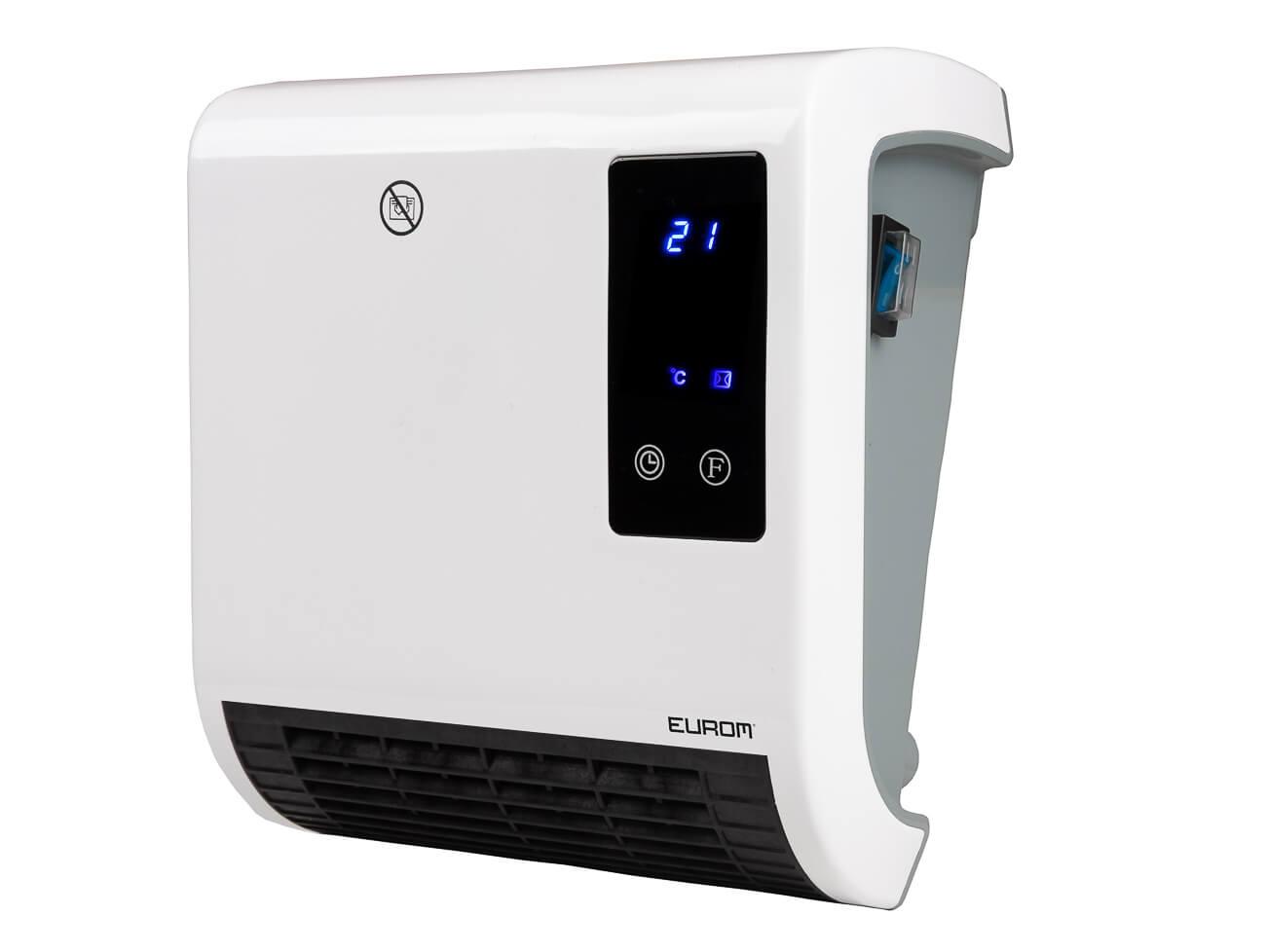 Eurom Sani-Fanheat 2000R Elektrische verwarming 2000W | Badkamerverwarming met Afstandsbediening