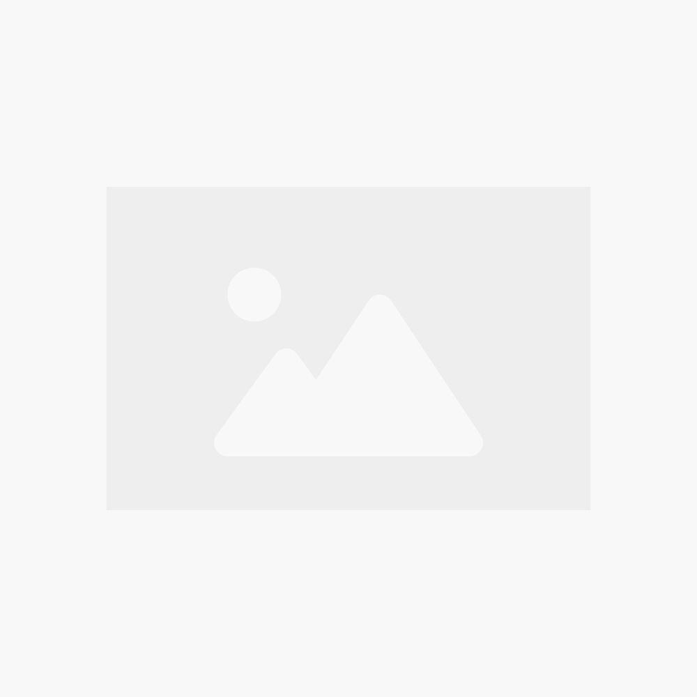 Kreator KRT640280S Aluminium opbergkoffer | 56x26,5x17,3 cm | Zilveren koffer voor 80 cd's