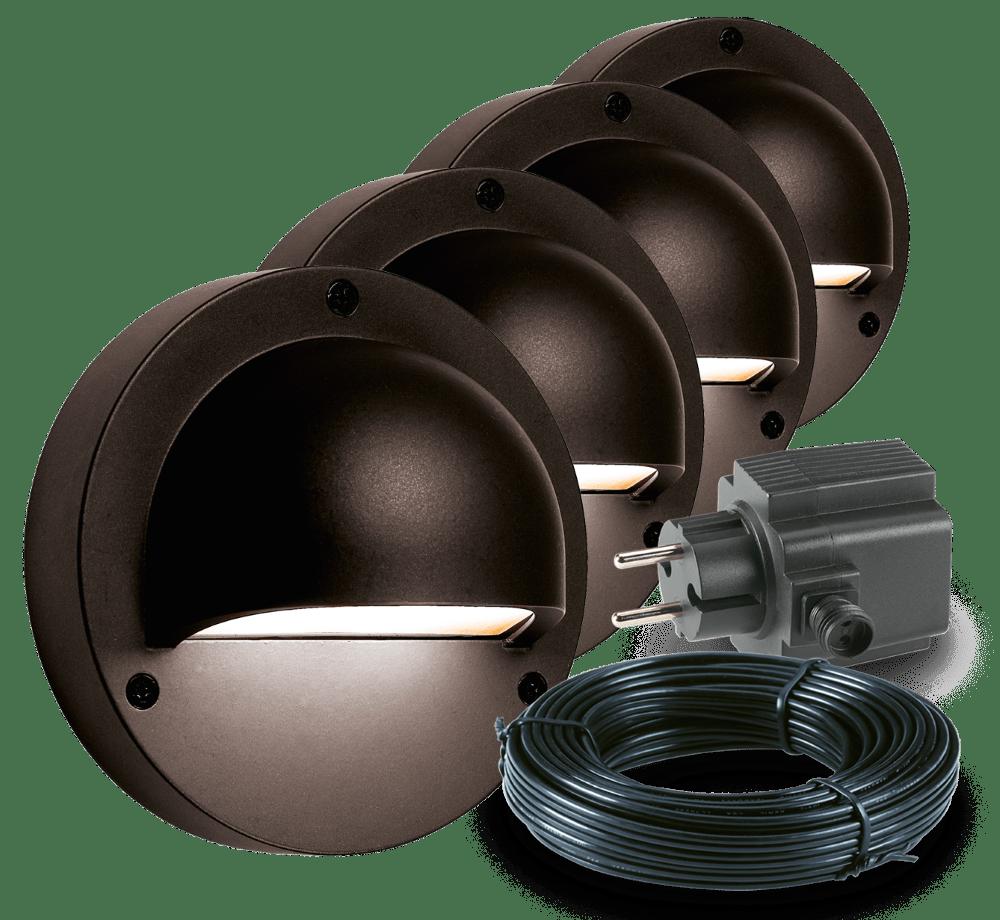 Garden Lights Buitenlamp Deimos LED Set 4 Stuks | Tuinverlichting