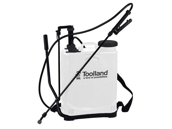 Toolland DT20016 Backpack sprayer   Ruggedragen drukspuit 16 Ltr   Onkruidspuit