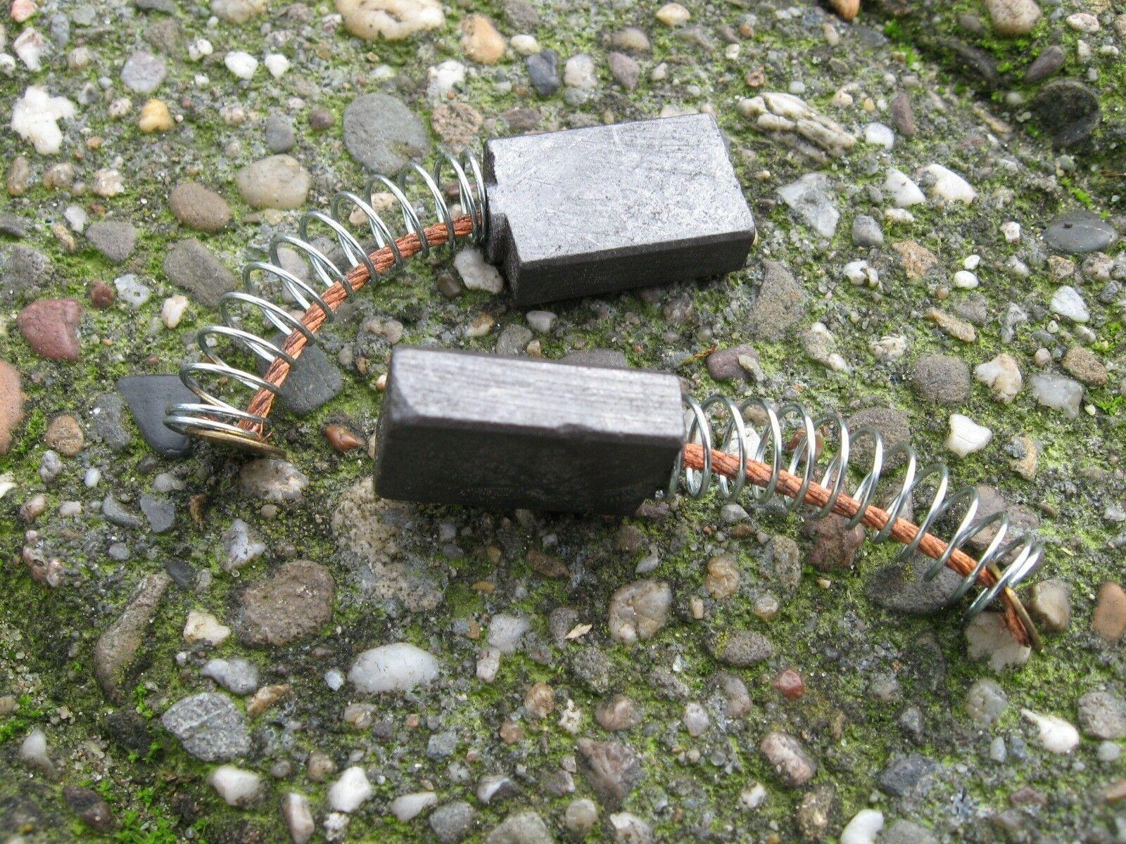 Koolborstelsetje voor kettingzaag Powerplus POWXG1006 | Setje van 2 koolborstels