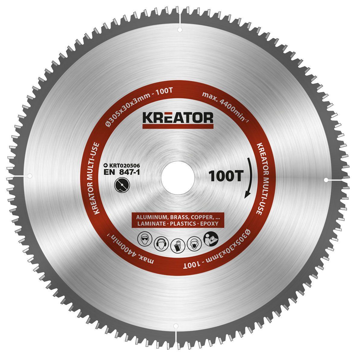Super Kreator KRT020506 Cirkelzaagblad - Van Melis QN35