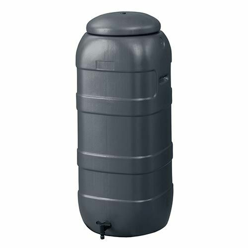 Harcostar Rainsaver Regenton 100 Liter   Plastic Regenwaterton Antraciet