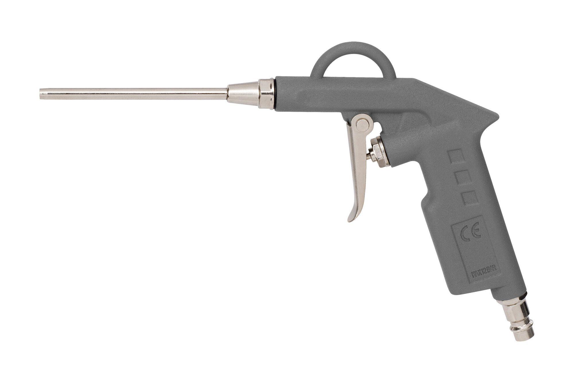 Powerplus POWAIR0104 Pneumatisch blaaspistool | Luchtpistool lange neus (blaaspistool)