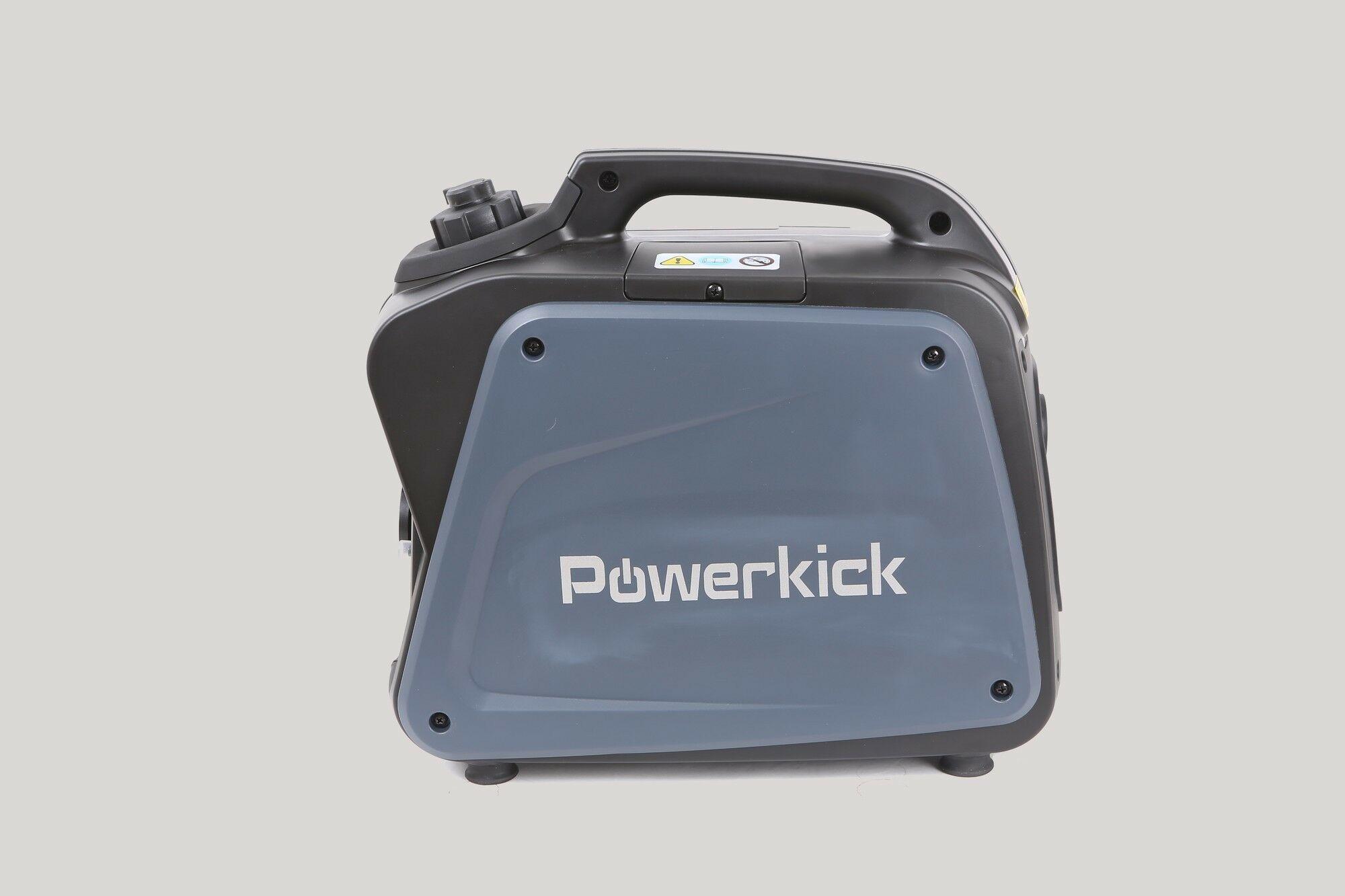 Powerkick 1200 Industrie | Benzine generator 60cc | Aggregaat 1100 watt
