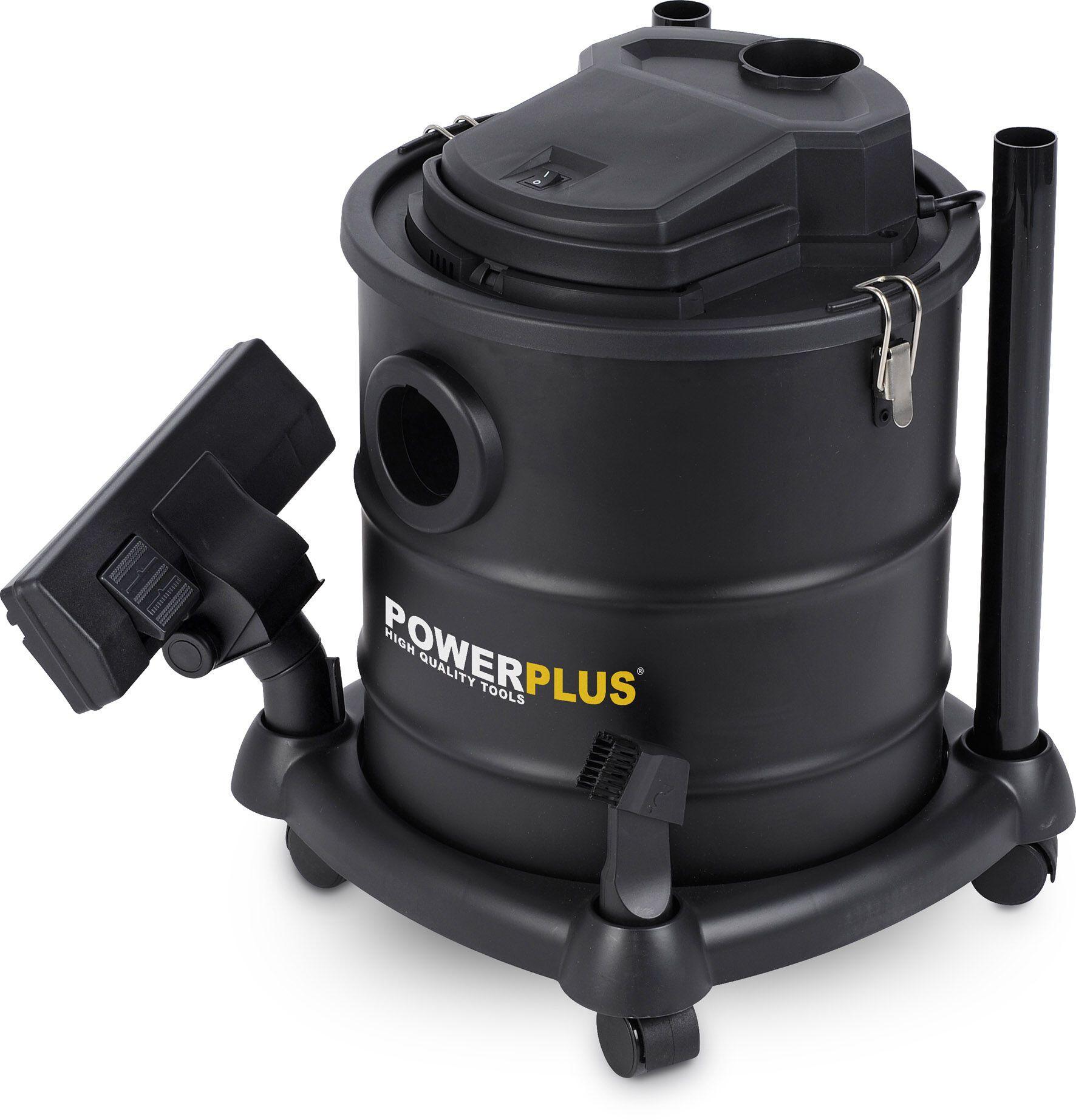 Powerplus POWX308 Aszuiger 20 liter | As stofzuiger, tevens stofzuiger (aszuiger)
