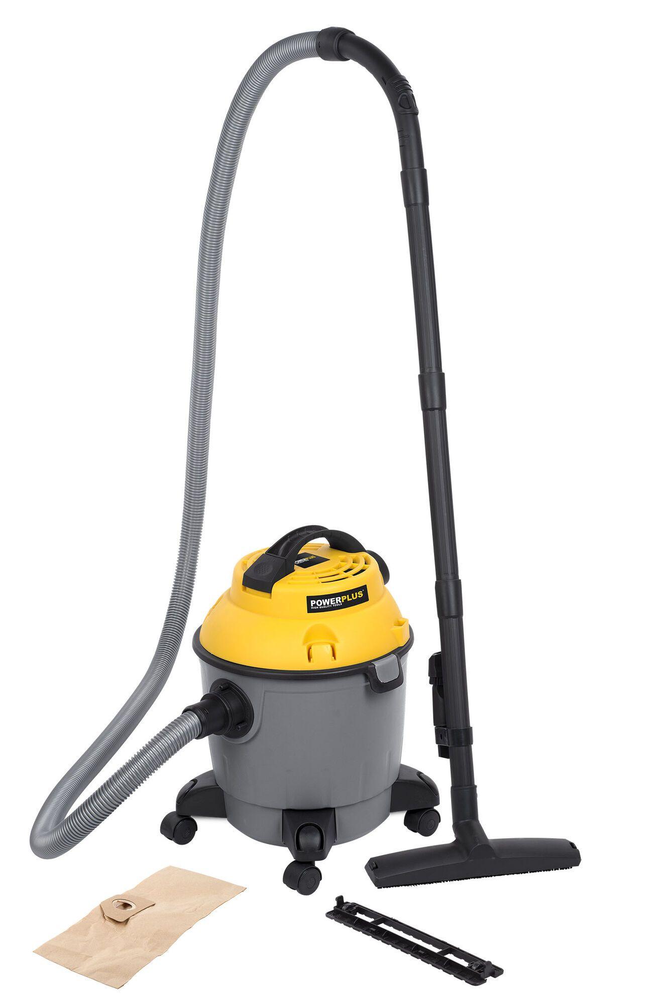 Powerplus POWX321 Alleszuiger 1000W | Stof en waterzuiger 18 liter ketel met Hepa filter (Alleszuigers)