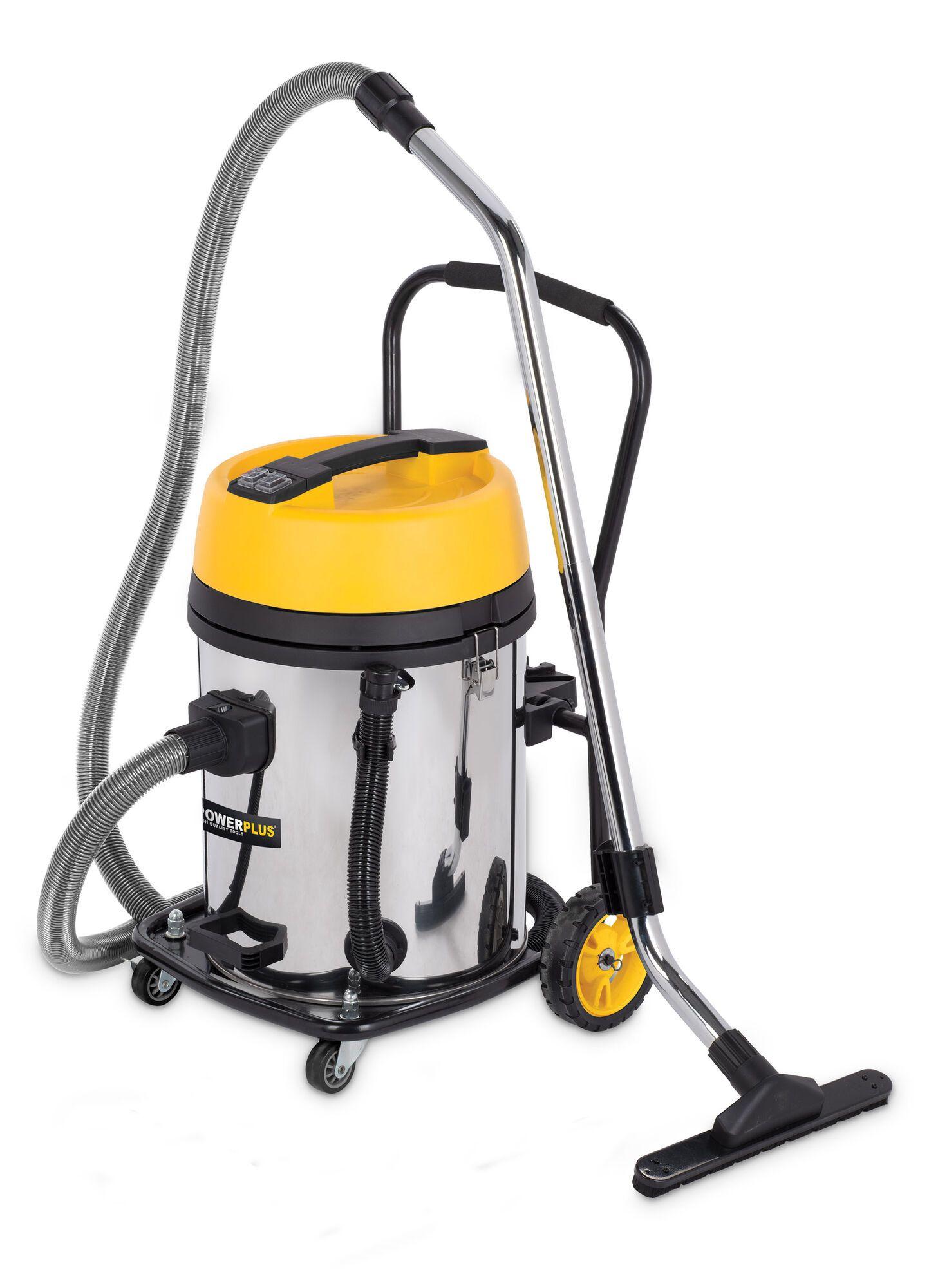 Powerplus POWX325 Alleszuiger 2x1200W | Stof en waterzuiger met 60 liter ketel met Hepa filter