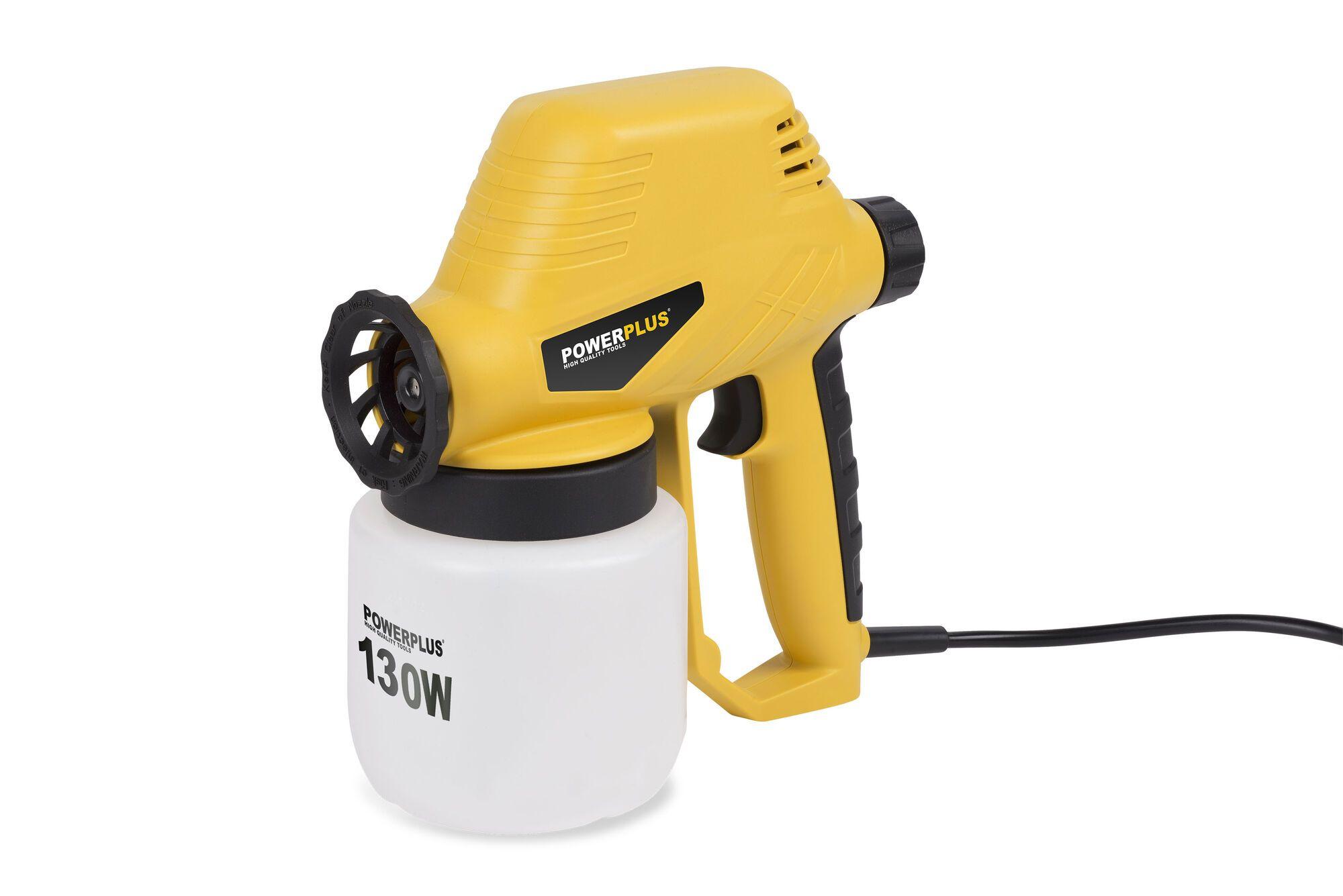 Powerplus POWX351 Elektrische verfspuit 130W | Verfpistool